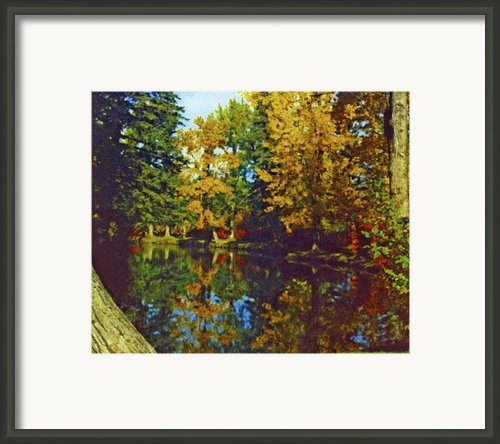 Bowness Park 1972 Framed Print By Al Bourassa