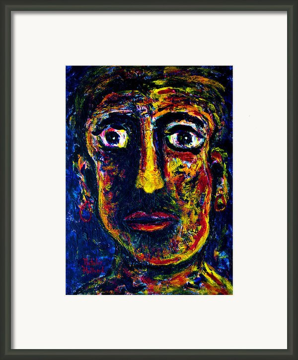 Boxer Framed Print By Natalie Holland