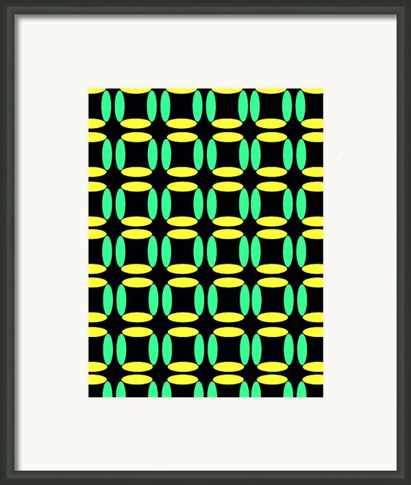 Boxes Framed Print By Louisa Knight