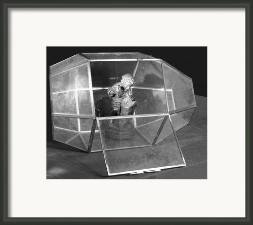 Boy In The Box Framed Print By Viktor Savchenko