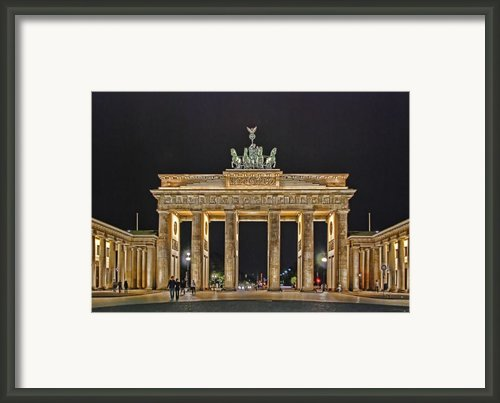 Brandenburg Gate Framed Print By Joachim G Pinkawa