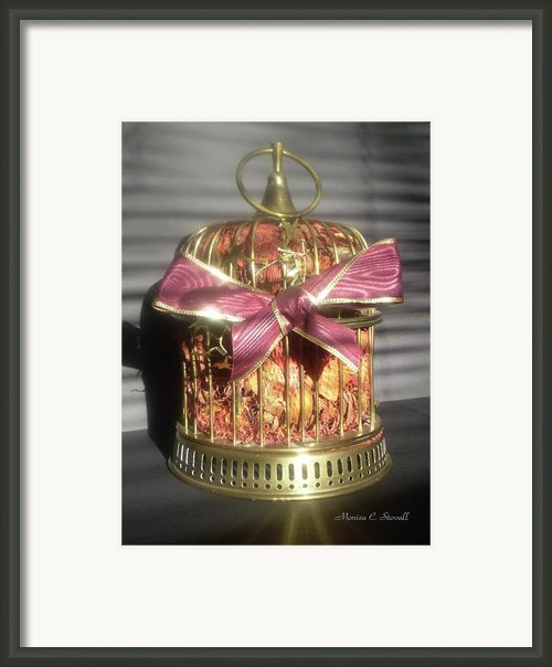 Brass And Potpourri Framed Print By Monica C Stovall