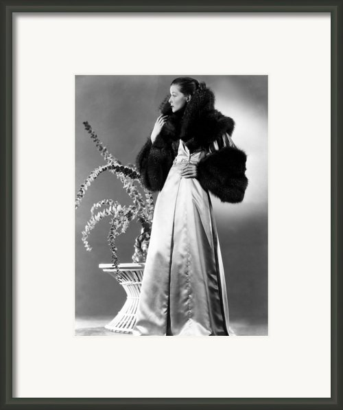 Break Of Hearts, Katharine Hepburn, 1935 Framed Print By Everett