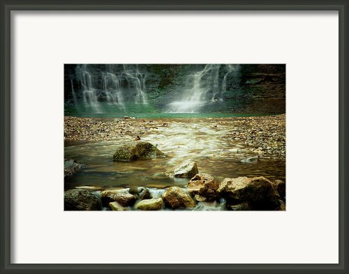 Break Of Silence Framed Print By Iris Greenwell