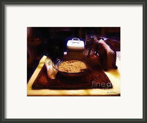 Breakfast Of Champions Framed Print By Rc Dewinter