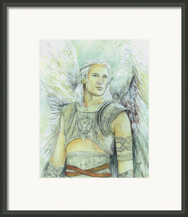 Breastplate Of Righteousness Framed Print By Morgan Fitzsimons