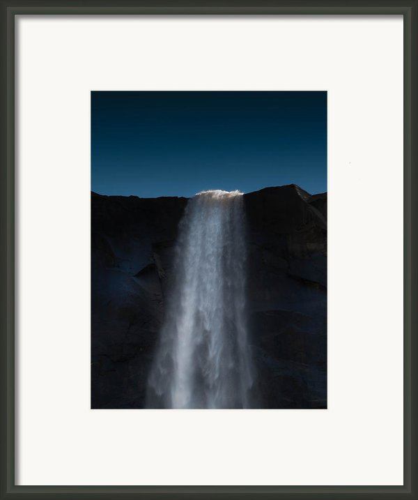 Bridal Veil Framed Print By Bill Gallagher
