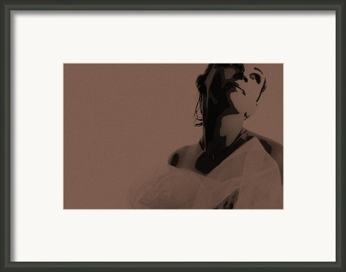 Bride Framed Print By Irina  March