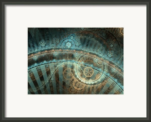Bridge Of Time Framed Print By David April