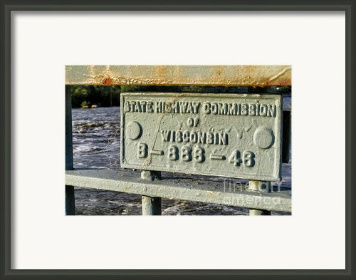 Bridge Over Torrent Waters Framed Print By Shutter Happens Photography