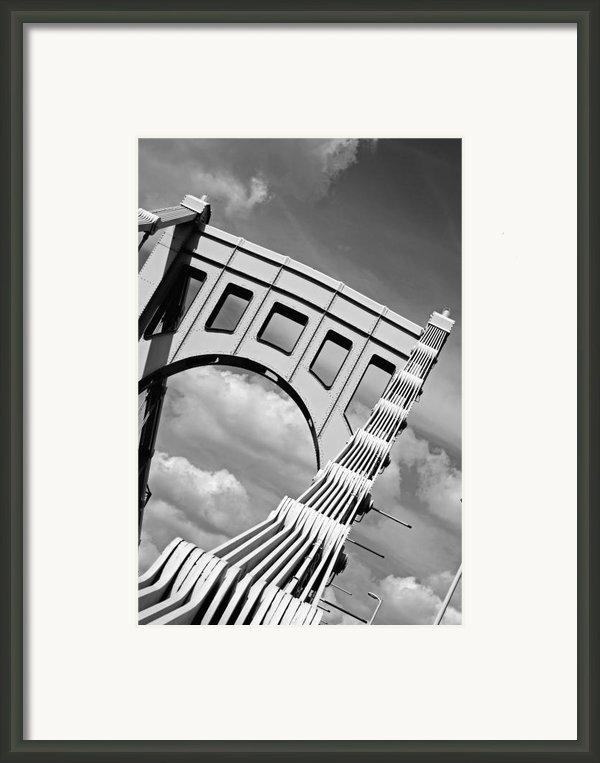Bridge Top Pittsburgh Pa Framed Print By Kristen Vota