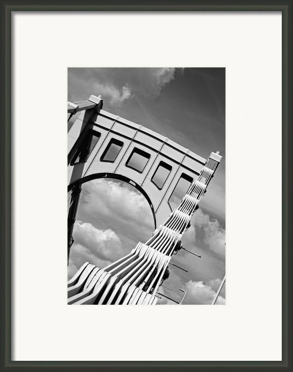 Bridge Top Pittsburgh Pa Framed Print By Kristen Vota