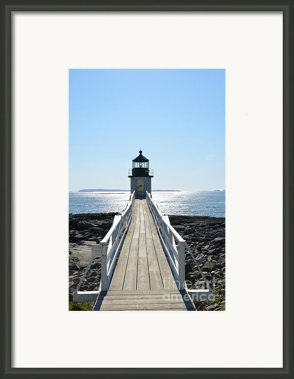 Brilliant Light Framed Print By Corinne Rhode