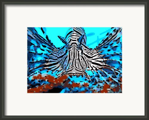 Brilliant Stripes Framed Print By George Pedro