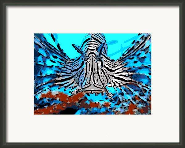 Brilliant Stripes Framed Print By George Pedro