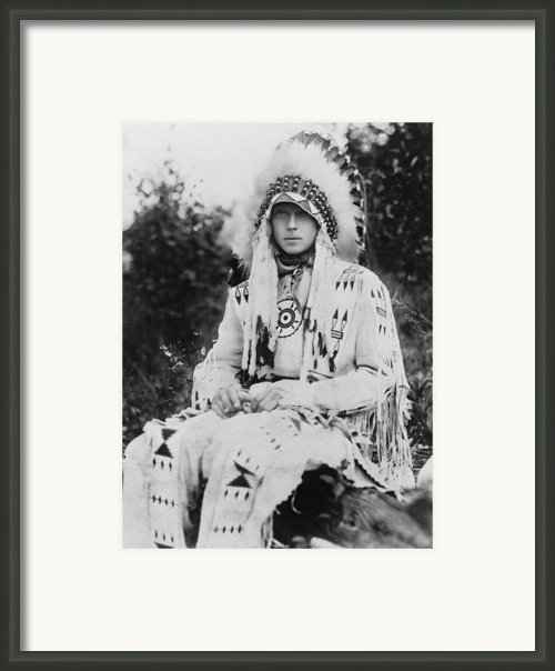 Britains King Edward Viii As Prince Framed Print By Everett