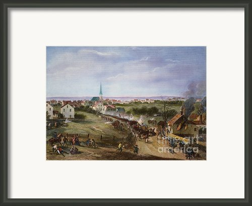 British Retreat, 1775 Framed Print By Granger