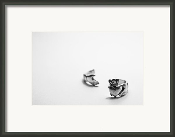 Broken Heart Framed Print By Brandon Leahy