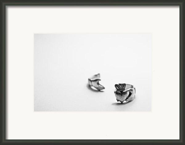 Broken Heart Framed Print By Brandon Leahy