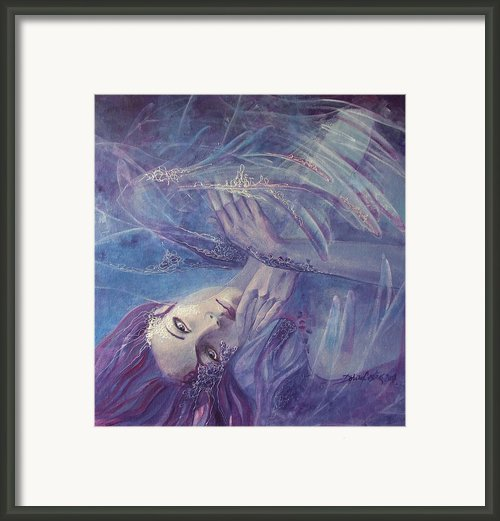 Broken Wings Framed Print By Dorina  Costras