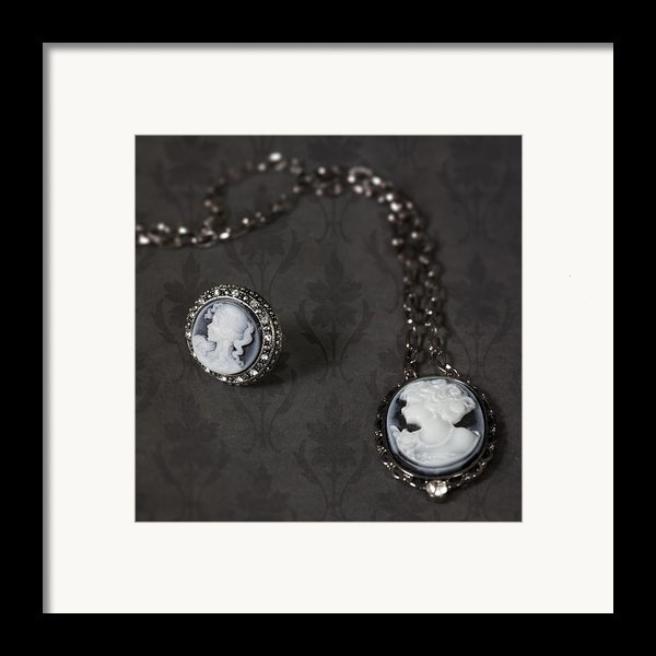Brooch And Necklace Framed Print By Joana Kruse