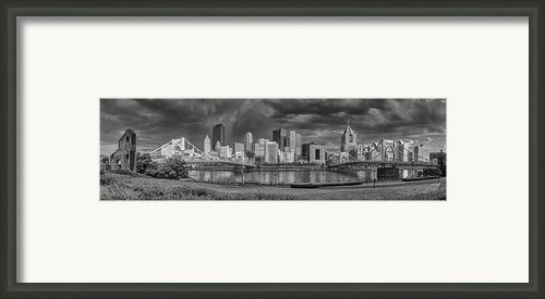 Brooding Above The Burgh Framed Print By Jennifer Grover