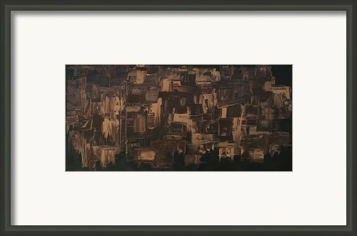 Brown And Brown Framed Print By James Johnson