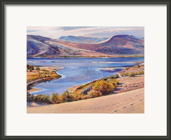 Bruneau Sand Dunes Framed Print By Steve Spencer