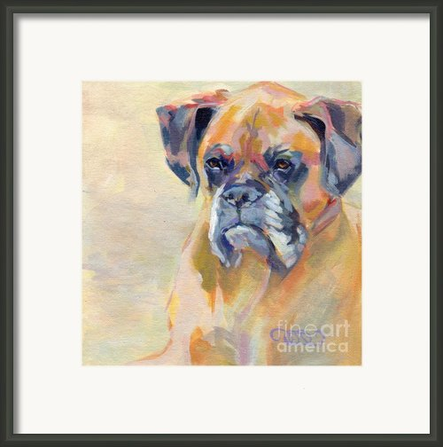 Brutus Framed Print By Kimberly Santini