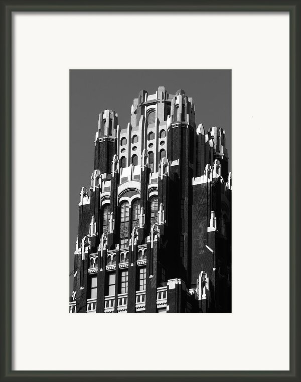 Bryant Park Hotel Framed Print By Christian Heeb