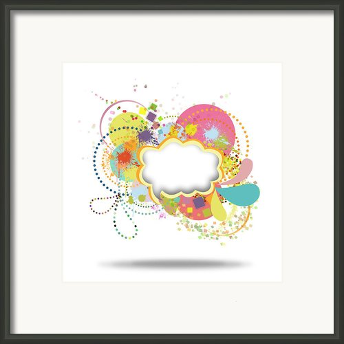 Bubble Speech Framed Print By Setsiri Silapasuwanchai