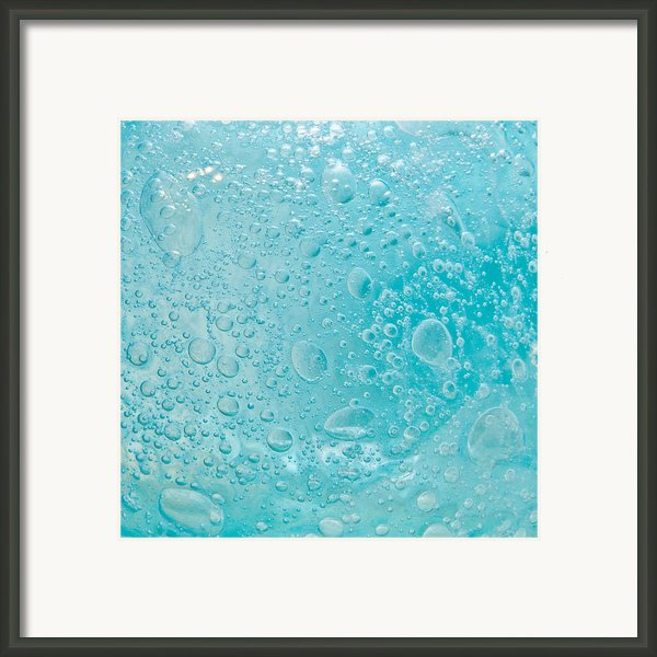 Bubbles Framed Print By Tom Gowanlock