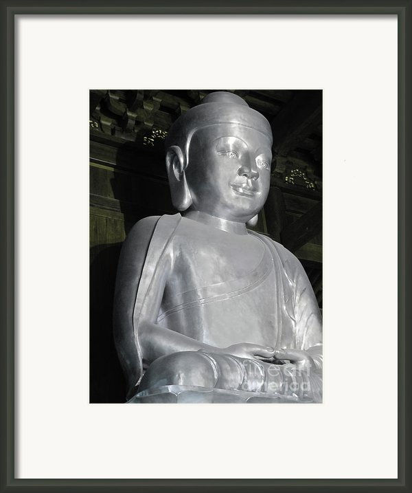 Buddha In Solid Silver - Jin