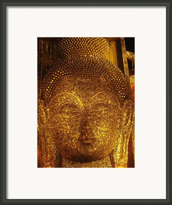 Buddha  Framed Print By Prasenjit Dhar