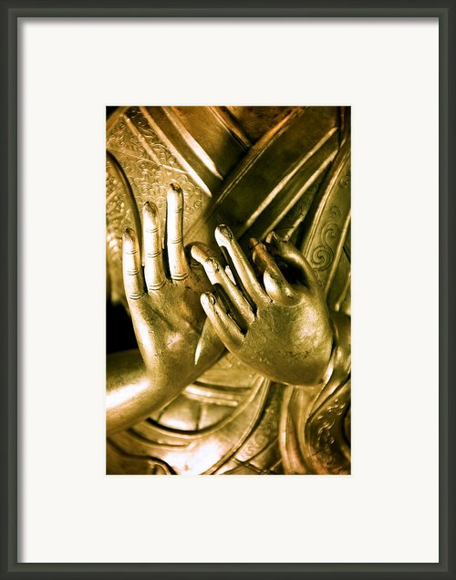 Buddhas Hands Framed Print By Ray Laskowitz - Printscapes