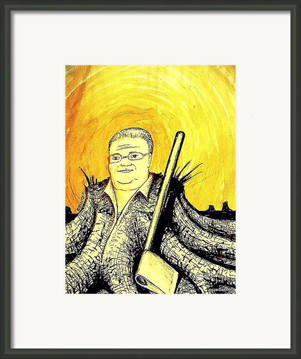 Budget Cut Framed Print By Paulo Zerbato