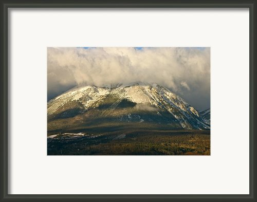 Buffalo Mountain Framed Print By Bob Berwyn