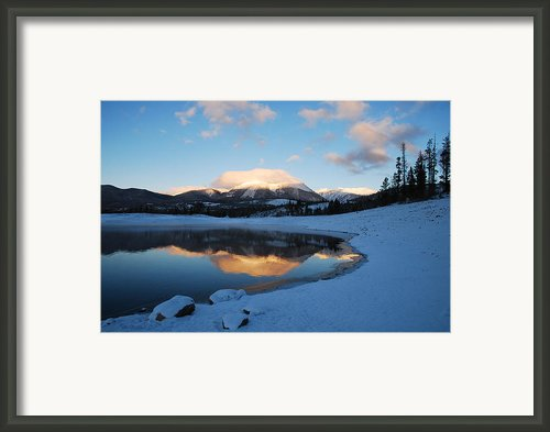 Buffalo Mountain Sunrise Framed Print By Bob Berwyn