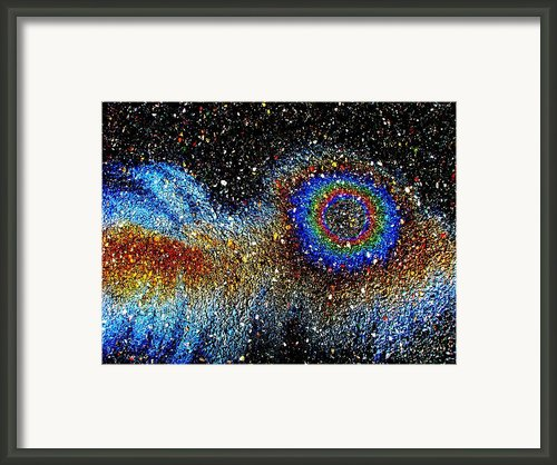 Bug Eye Framed Print By Samuel Sheats