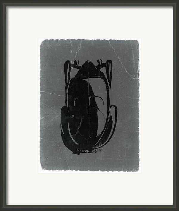 Bugatti 57 S Atlantic Top Framed Print By Irina  March