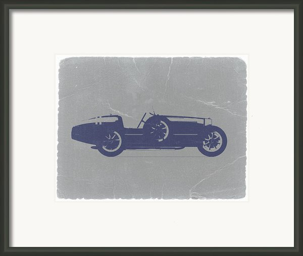 Bugatti Type 35 Framed Print By Irina  March