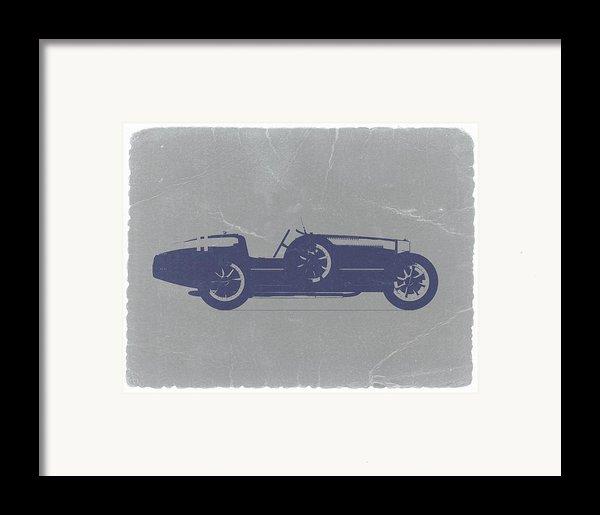 Bugatti Type 35 Framed Print By Naxart Studio