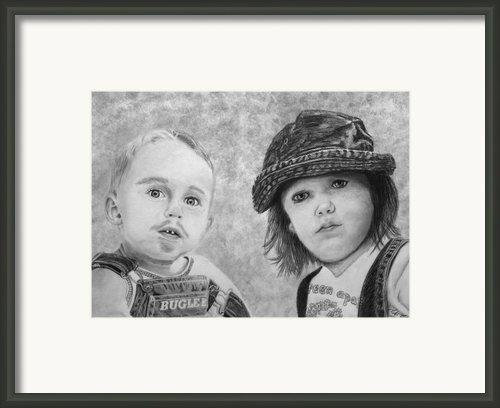 Bugle Boy And Sweet Apple  Framed Print By Peter Piatt