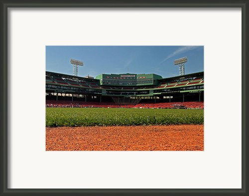 Bugs Eye View From Center Field Framed Print By Paul Mangold