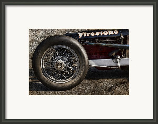 Buick Shafer 8 Framed Print By Peter Chilelli