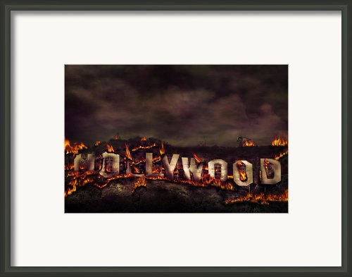 Burn This City Framed Print By Anthony Citro