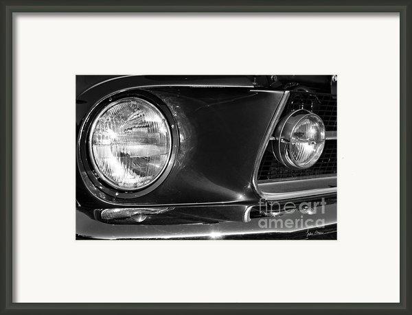 Burnt Rubber Framed Print By Luke Moore