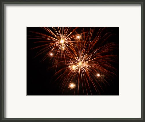 Burst 5 Framed Print By Cynthia Lassiter