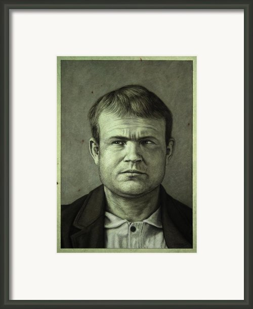Butch Cassidy Framed Print By James W Johnson