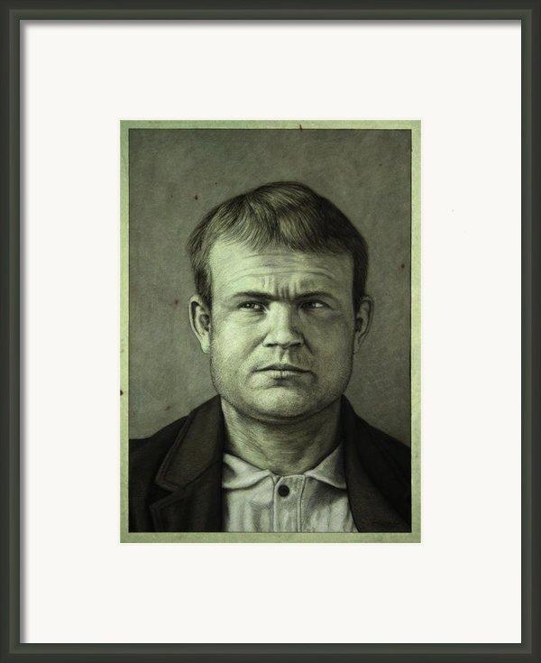 Butch Cassidy Framed Print By James W Johnson
